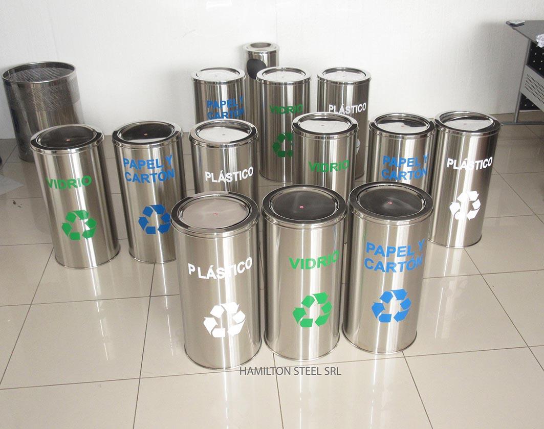 Contenedores de reciclaje hamilton steel srl - Contenedores de basura para reciclaje ...